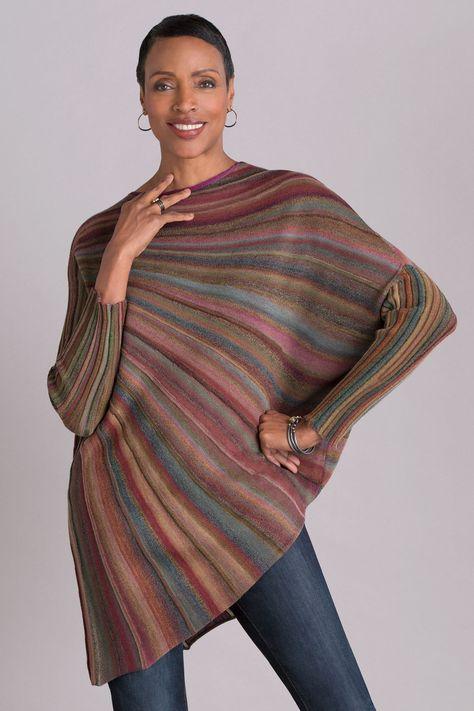 Color Wheel Sweater by Mieko Mintz -