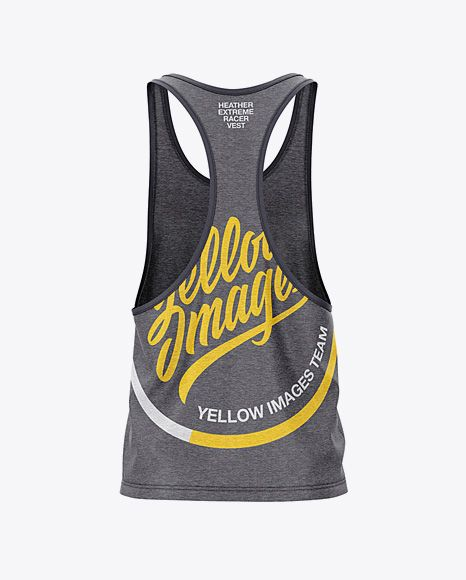 Download Men S Heather Racer Back Tank Top Mockup Back View In Apparel Mockups On Yellow Images Object Mockups Design Mockup Free Psd Designs Free Psd Design