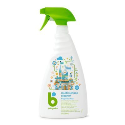 Babyganics 32 Oz Fragrance Free Multi Surface Cleaner Fragrance