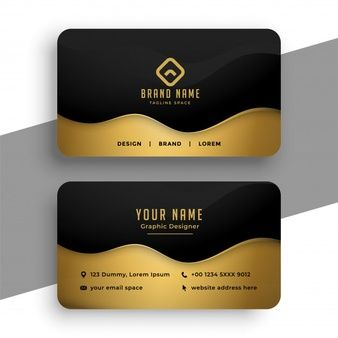 Download Black And Gold Luxury Vip Business Card Template For Free Business Card Design Black Business Cards Collection Modern Business Cards Design