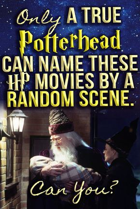 Only A True Potterhead Can Name These HP Movies By A Random