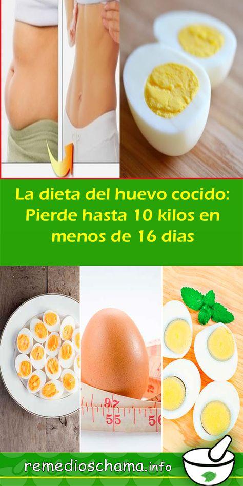 huevo cocido sirve para adelgazar