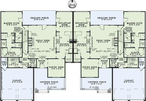 4 Bedroom 2 Bath Country House Plan Alp 09mr Family House Plans Multigenerational House Plans House Floor Plans