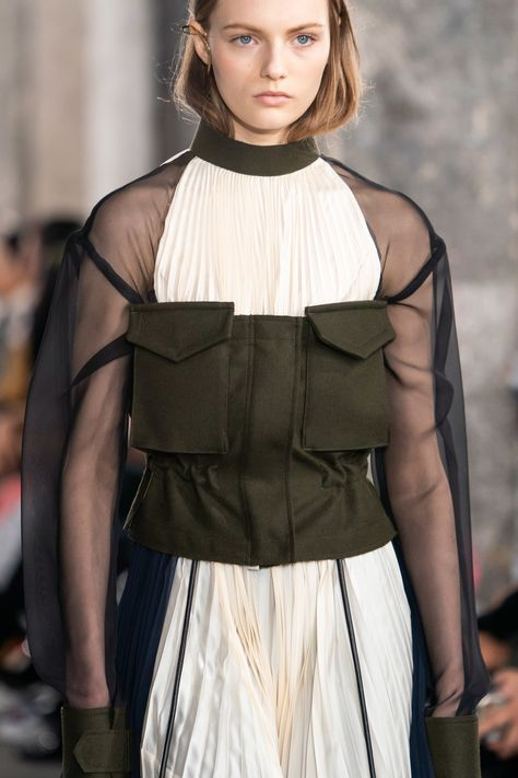 Sacai Herbst/Winter 2019-2020 Ready-to-Wear - Details
