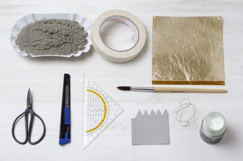 Beton Bergkristall Material