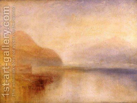 Inverary Pier Loch Fyne Morning C 1840 5 Painting By Turner Reproduction 1st Art Gallery Art Gallery Painting Painting Frames