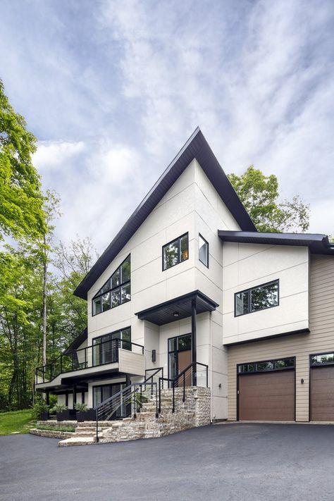 Artisan V Rustic Premium Exterior Siding by James Hardie Siding - expert reception maison neuve