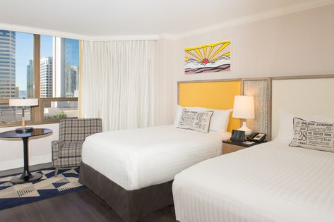 A Double Room At The Bristol Hotel In Downtown San Diego California Bristol Double Room Business Travel