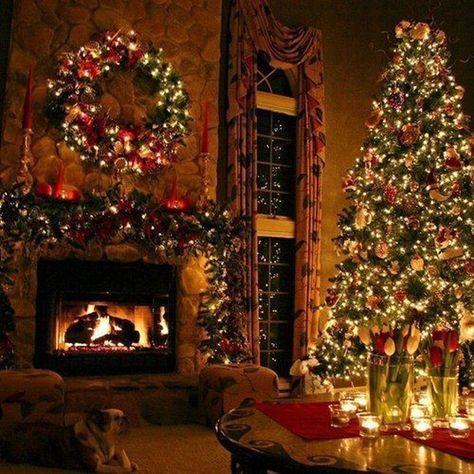 Cosy Christmas, Christmas Feeling, Magical Christmas, Winter Christmas Scenes, Christmas Manger, Christmas Houses, Christmas Kitchen, Christmas Wishes, Diy Christmas Decorations