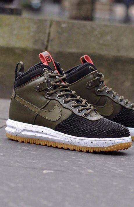 nike lunar force 1 duck boot black elephant print gumball