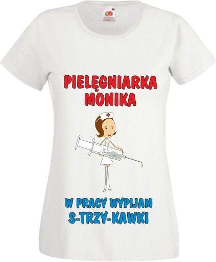 Kup Teraz Na Allegro Pl Za 30 45 Zl Koszulka Prezent Dla Pielegniarki Z Nadrukiem Imie 7247687631 Allegro Pl Radosc Zakup Mens Tops Mens Tshirts T Shirt