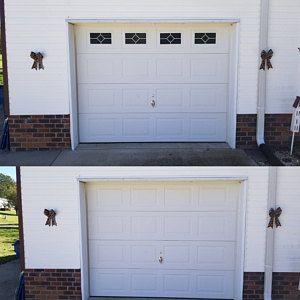 Craftsman Style Faux Garage Door Windows Vinyl Decals No Faux Hardware Included Faux Garage Door Windows Garage Door Styles Garage Doors