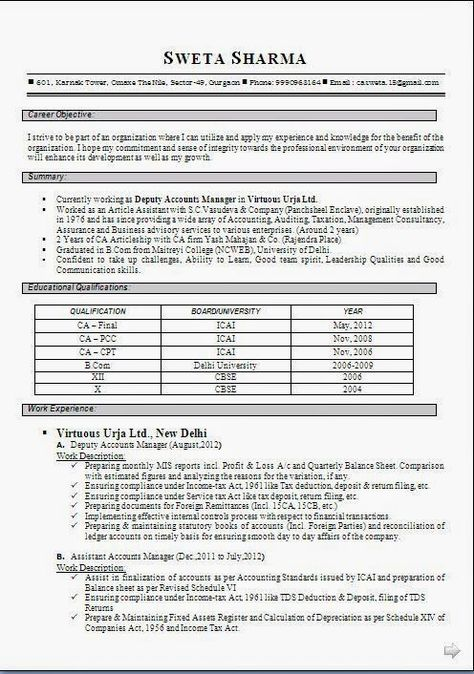 Best Resume Format 2012. Best 25+ Best Resume Examples Ideas On