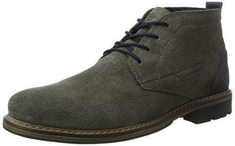 Sioux - Zapatos de cordones de cuero nobuck para mujer marrón marrón, color marrón, talla 36
