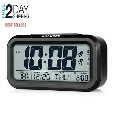 Peakeep Battery Operated Cordless Digital Dual Alarm Clock 7 6 5 Day Programmab Fashion Home Garden Homedcor Clocks Ebay Link Alarm Clock Clock Digital