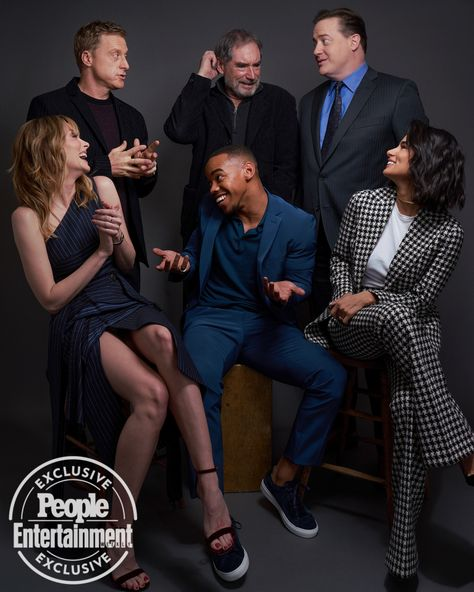 Tv S Brightest Stars Are Talking Up Their New Shows In L A See