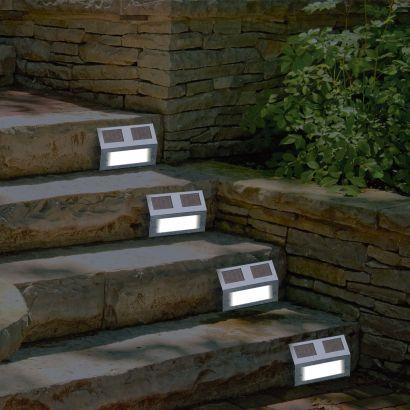 Eclairage Solaire Pour Escalier Garden Feelings R Detecteur