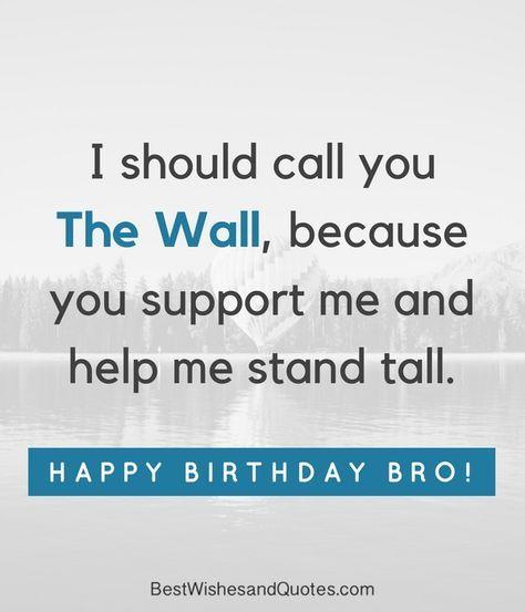 Happy Birthday Brother: 41 Unique ways to Say Happy Birthday ...