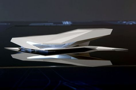 Model of the Filmmuseum by Delugan Meissl