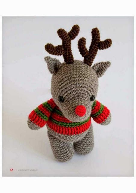 Feliz Navidad amigurumis | Christmas crochet, Holiday crochet ... | 640x452