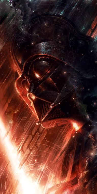 Forged in Darkness Darth Vader - 18 x 36 / Gallery Wrap