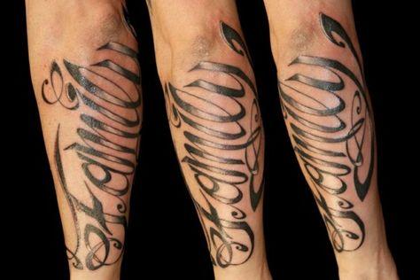 Sprüche arm tattoo männer 90 Cool
