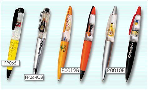 フローティングペン ヌードペン 3dミニチュア版 ペン レンチキュラー フローティング