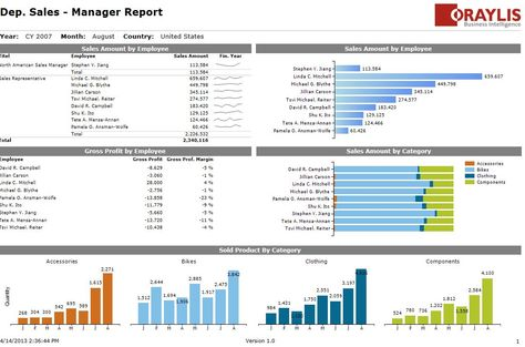Nice looking SSRS (?) report Data Visualization and Business - ssrs sample resume
