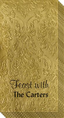 Design Your Own Carte Embossed Guest Towels
