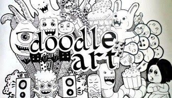 21 Tulisan Keren A Sampai Z Di 2020 Doodle Cara Menggambar Gambar