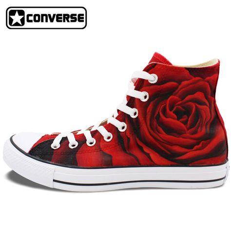 converse all star mujer rosas