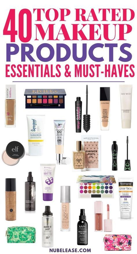 40 Top Rated Makeup Products Essentials And Must Haves This Year Makeuporange Makeupsilver Makeupwi In 2020 Makeup Essentials Summer Makeup Best Makeup Products