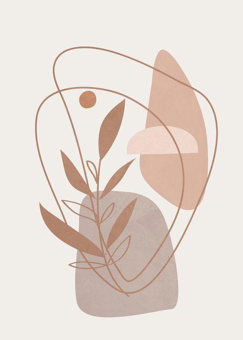 Abstract Shapes No.22 Art Print