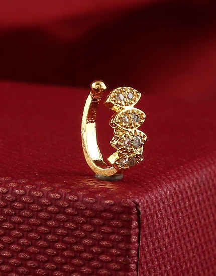 Anuradha Art Jewellery Presents Latest Trendy Collection Of American Diamond Nose Pin To See Mo Diamond Nose Ring American Diamond Jewellery Diamond Nose Stud