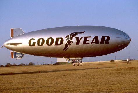 Lawton Oklahoma - Goodyear Blimp - 1983 by duggar11, via Flickr