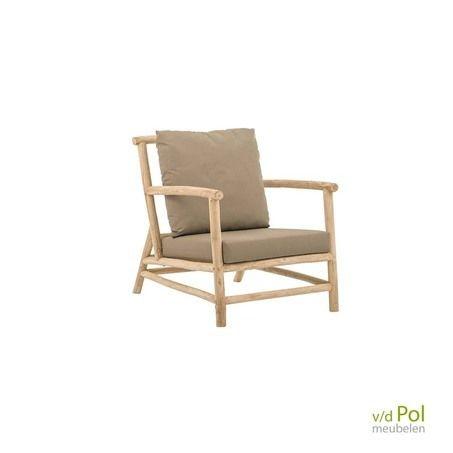 Lounge Stoel Gebruikt.Rooty Loungechair Apple Bee Loungestoel Teakhout En Stoelen