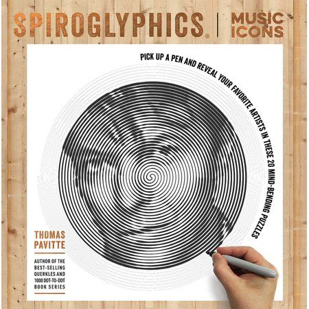 Spiroglyphics Spiroglyphics Music Icons Paperback Walmart Com Music Icon Music Puzzle Books