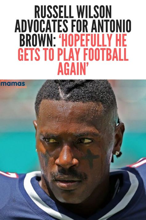 One of the NFL's clear MVP-frontrunners, Seahawks quarterback Russell Wilson, thinks Antonio Brown deserves a second chance. #RussellWIlson #SeattleSeahawks #NFL #AntonioBrown