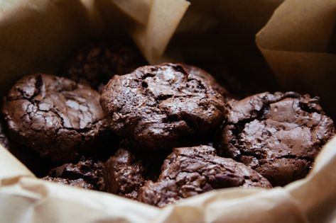 Gluten Free Salted Chocolate Cookies