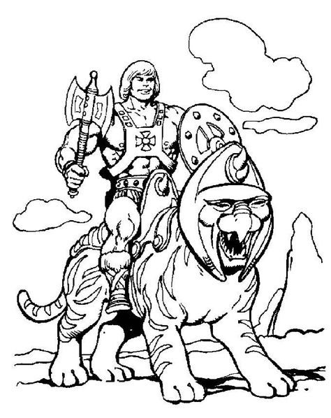 He Man Coloring Pages Best Coloring Pages For Kids Cartoon Coloring Pages Super Coloring Pages Cat Coloring Page
