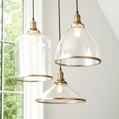 Franklin Hanging Glass Pendant Lights Hanging Light Fixtures