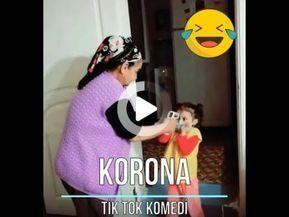 Tik Tok Video 1 Corona Corona Watch Funny Videos Mizah Videolari Komik Videolar