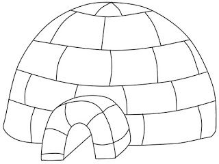 Kids Coloring Pages House Colouring Pages Igloo Coloring Pages