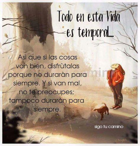 Todo es temporal ❤️
