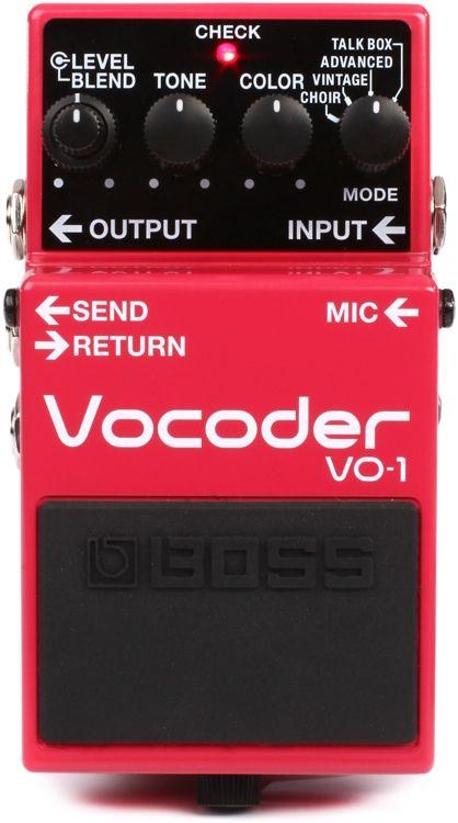 Boss Vo 1 Vocoder Pedal Boss Pedals Pedal Heavy Metal Guitar