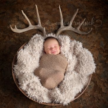 Newborn pics with antlers antlers pinterest antlers babies and baby fever