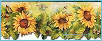 9 Features Of Sunflower Wallpaper Border Kitchen That Make Everyone Love It Sunflower Wallpap Sunflower Wallpaper Butterfly Wallpaper Border Wallpaper Border