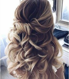 Awesome Wedding Hairstyles Halfway Up Half Down Awesome Hairstyles Halfway Wedding Wedding Hairstyles For Long Hair Long Hair Styles Wedding Hair Down