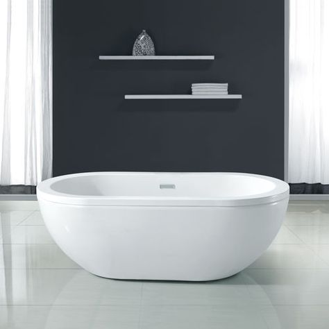 "new waves noah 63"" acrylic bathtub $949 at costco 