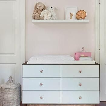Floating Shelf Over Changing Table Design Ideas Things To Consider When Buying Diaper Chang In 2020 Diaper Changing Table Changing Table Dresser Changing Table Topper